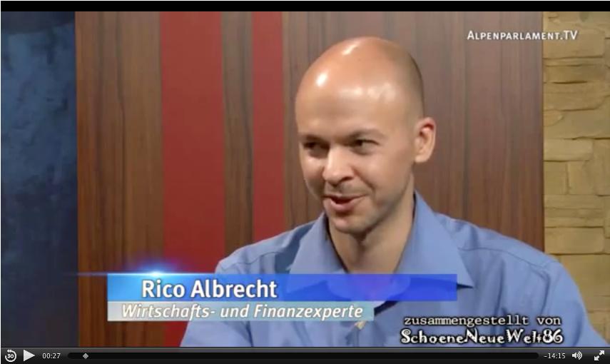 Energieversorgung der Zukunft Teil 3, Interview mit Rico Albrecht zum Wachstumswahn, Energiebedarf, Zinspolitik und weiteres in unserer Gesellschaft